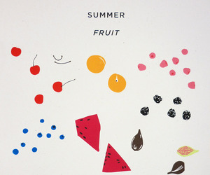 art, FRUiTS, and painting image