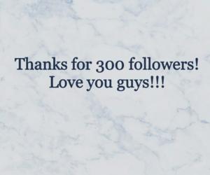 300 followers and ありがとうございます image