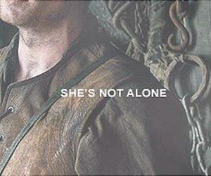 joe dempsie, arya stark, and game of thrones image