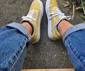 tumblr, vans, and yellow image