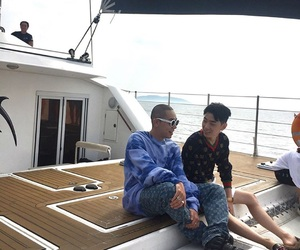 summertime, sexyboys, and yacht image