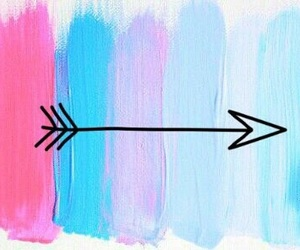 arrow, background, and pastel image