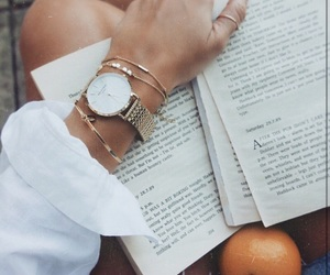 accessories, autumn, and book image