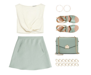 pastel and Polyvore image
