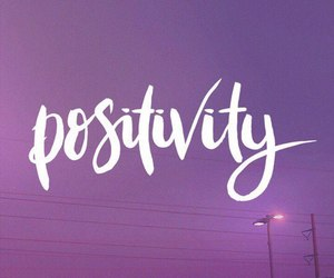 positivity, purple, and quotes image