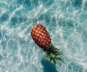 artsy, pineapple, and pool image