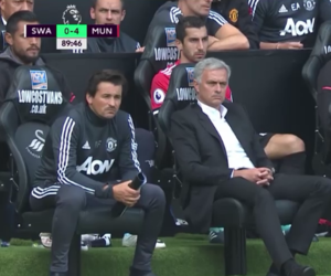 football, manchester united, and mourinho image