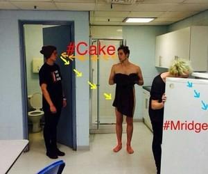 cake, fridge, and 5sos image