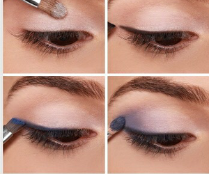 diy, makeup, and eyes image