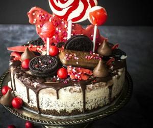 chocolate, cake, and ice cream image
