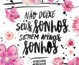 phrases, sonhos, and frases image