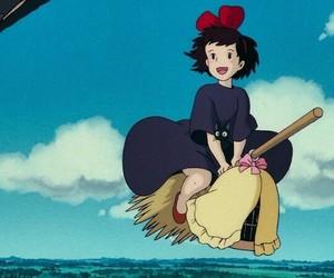 anime, kikis delivery service, and jiji image
