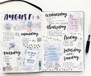 doodle, journal, and journaling image