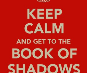 charmed, keep calm, and the book of shadows image