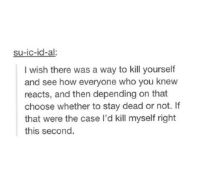 depressed, suicide, and suicidal image