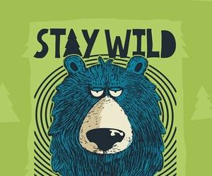 animals, bear, and green image