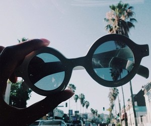 summer, sunglasses, and hipster image