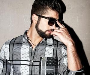 beard, fashion, and goals image