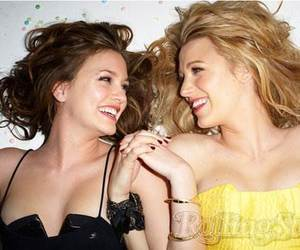 best friends, blair and serena, and goals image