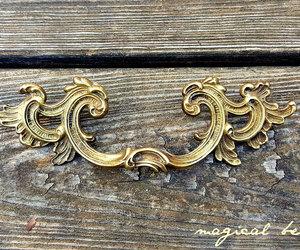etsy, cabinet pulls, and golddrawerpulls image