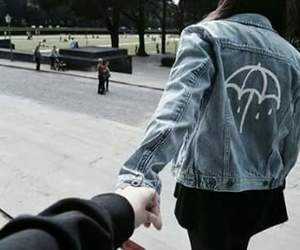 alternative, bmth, and couple image