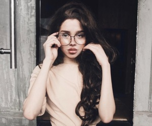 foto, brille, and model image