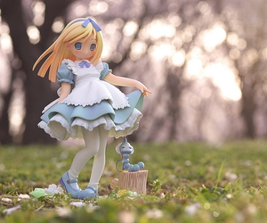 alice, alice in wonderland, and doll image