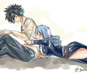nalu, anime, and couple image