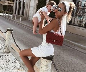 fashion, family, and baby image