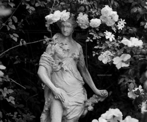 rose and sculpture image