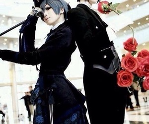 cosplay, kuroshitsuji, and ciel image