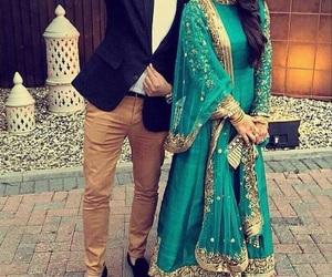 couple, muslim, and pakistani image