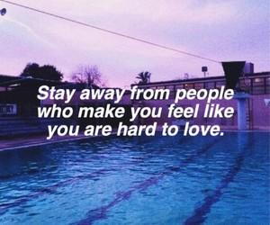 quote and sad image