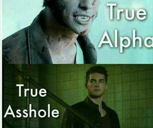 teen wolf, theo, and scott mccall image