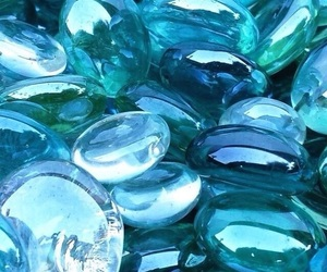 aqua, blues, and glass image