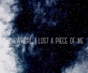 lost, clouds, and me image