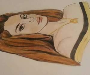 draws and lana del rey image