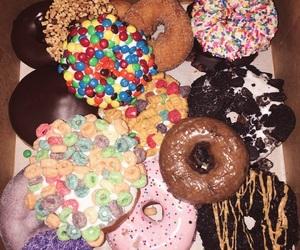 california, doughnuts, and food image