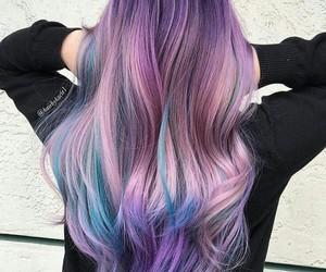 azul, hair, and lila image