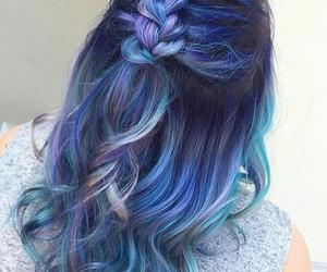 azul, blue, and lila image