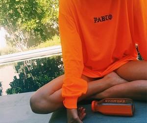 orange and pablo image