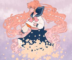 sailor moon and usagi tsukino image