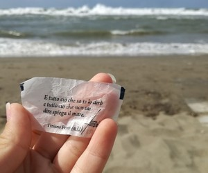 beach, cit, and italy image