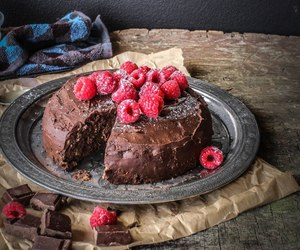 brownie, choco, and delicious image