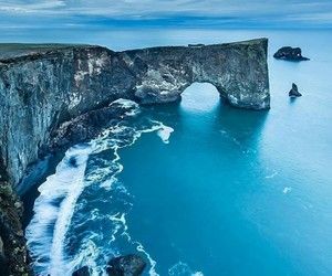 iceland, sea, and nature image