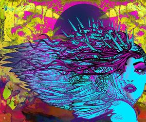 psychedelic art and tom denney image