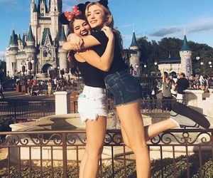 disney, girl, and friends image