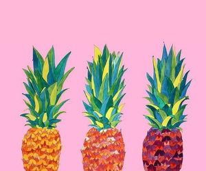 pineapple, wallpaper, and fruit image