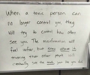 quotes, toxic, and life image