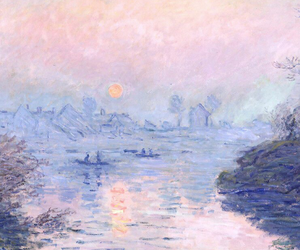 art, monet, and pastel image